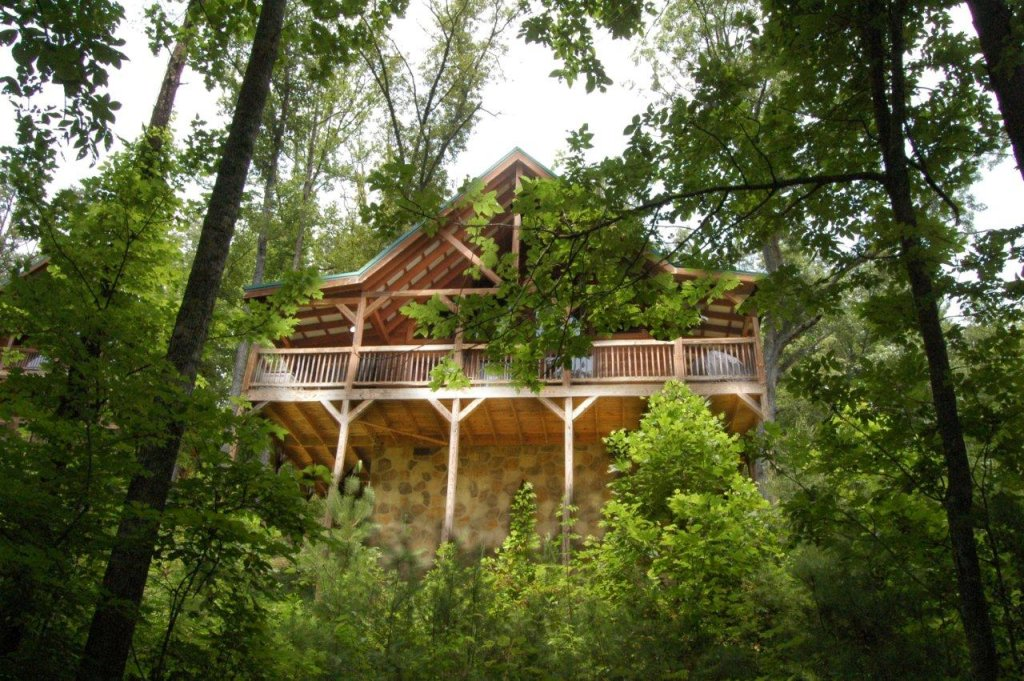 Photo of a Pigeon Forge Cabin named A Bear's Eye View #251 - This is the seventeenth photo in the set.