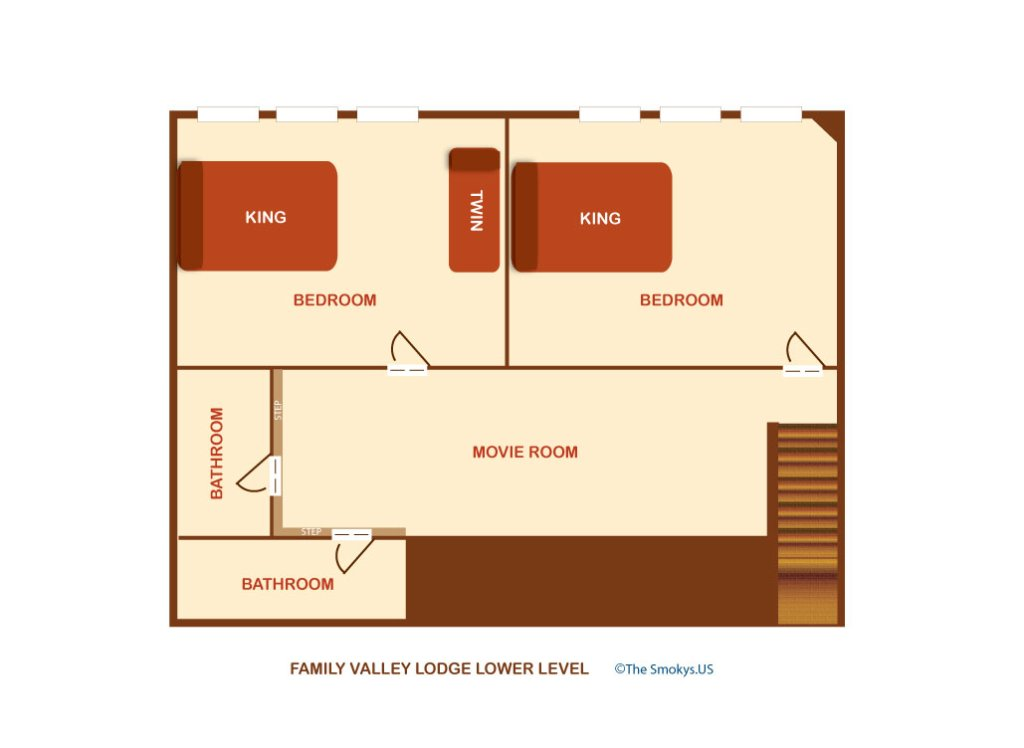 Photo of a Pigeon Forge Cabin named Family Valley Lodge - This is the fifty-third photo in the set.