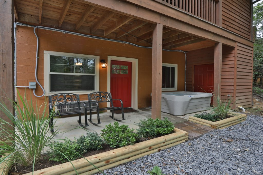 Photo of a Gatlinburg Cabin named Pleasant Dreams - This is the fifth photo in the set.