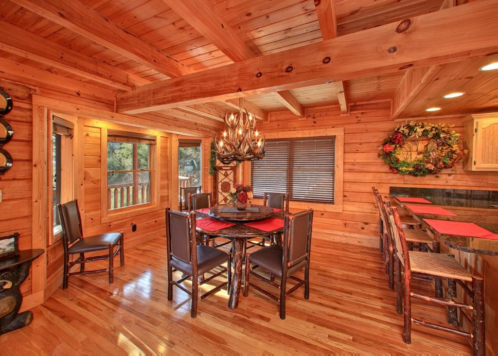 Photo of a Pigeon Forge Cabin named Misty Mountaintop #52 - This is the sixth photo in the set.