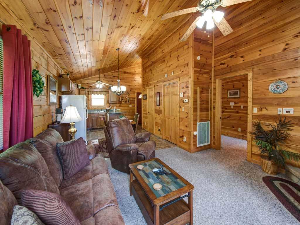 Photo of a Sevierville Cabin named Tender Moments - This is the sixth photo in the set.