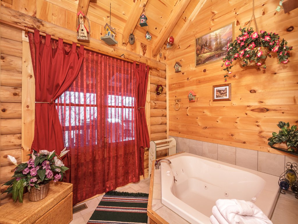 Photo of a Gatlinburg Cabin named Alpine Ski Lodge - This is the twelfth photo in the set.