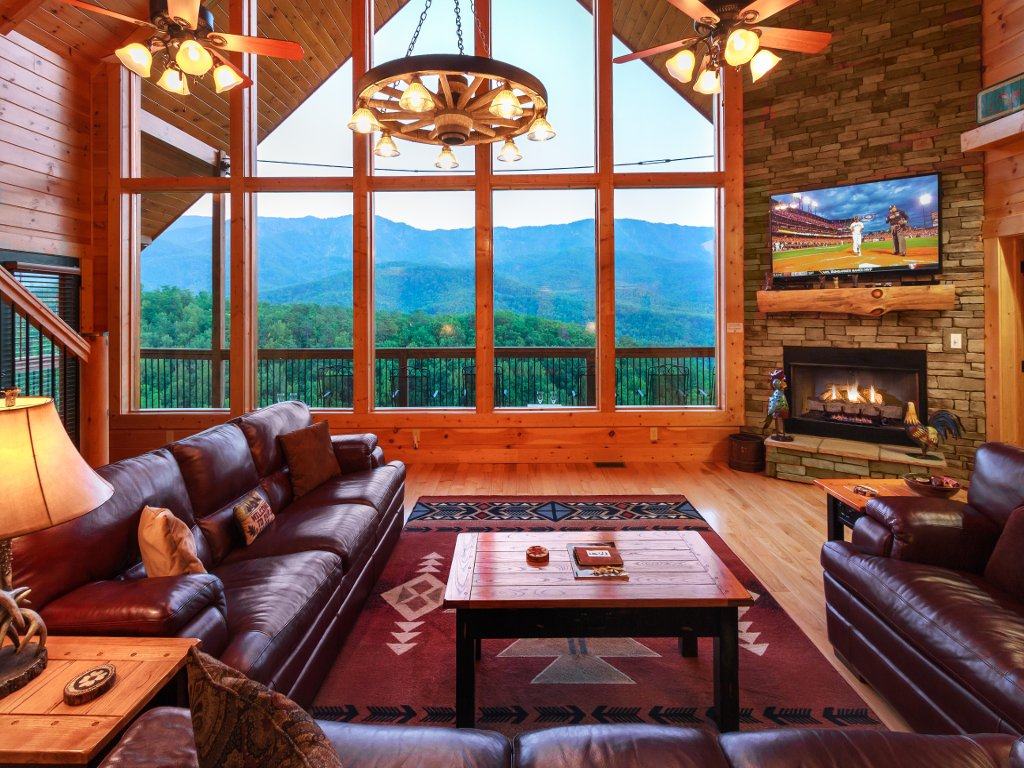 Photo of a Gatlinburg Cabin named Cloud Dancer Ii - This is the sixth photo in the set.