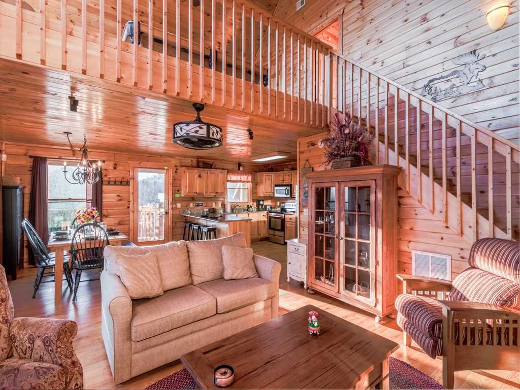Photo of a Gatlinburg Cabin named Gatlinburg Summit Views - This is the sixth photo in the set.