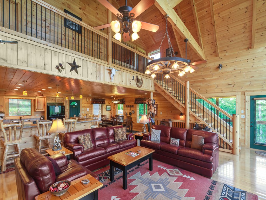 Photo of a Gatlinburg Cabin named Cloud Dancer Ii - This is the fifth photo in the set.