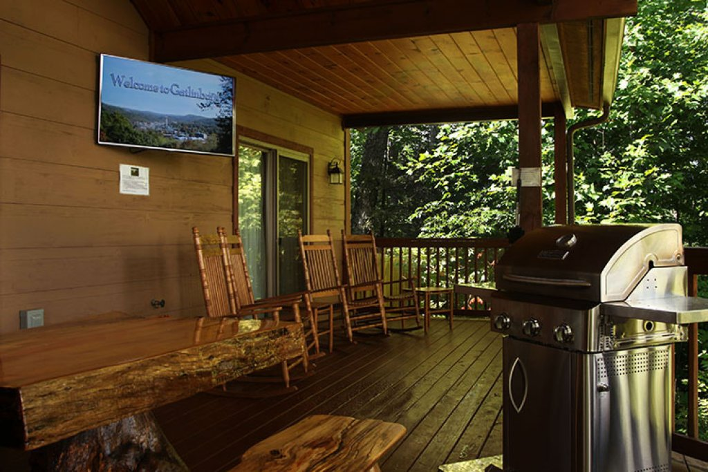 Photo of a Gatlinburg Cabin named Riversound Romance - This is the third photo in the set.