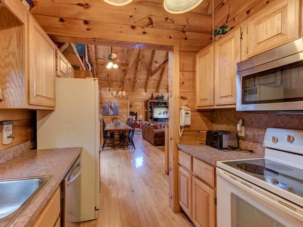 Appalachian Lodge Cabin In Gatlinburg W 4 Br Sleeps16