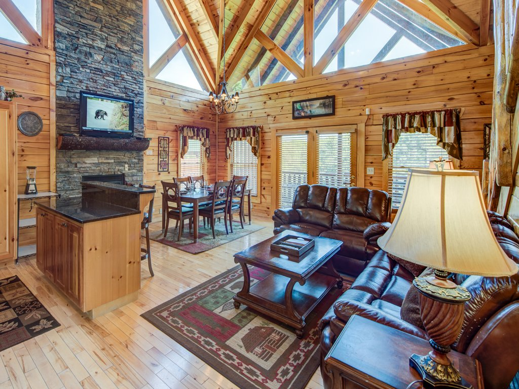 Photo of a Gatlinburg Cabin named Smoky Ridge View - This is the first photo in the set.
