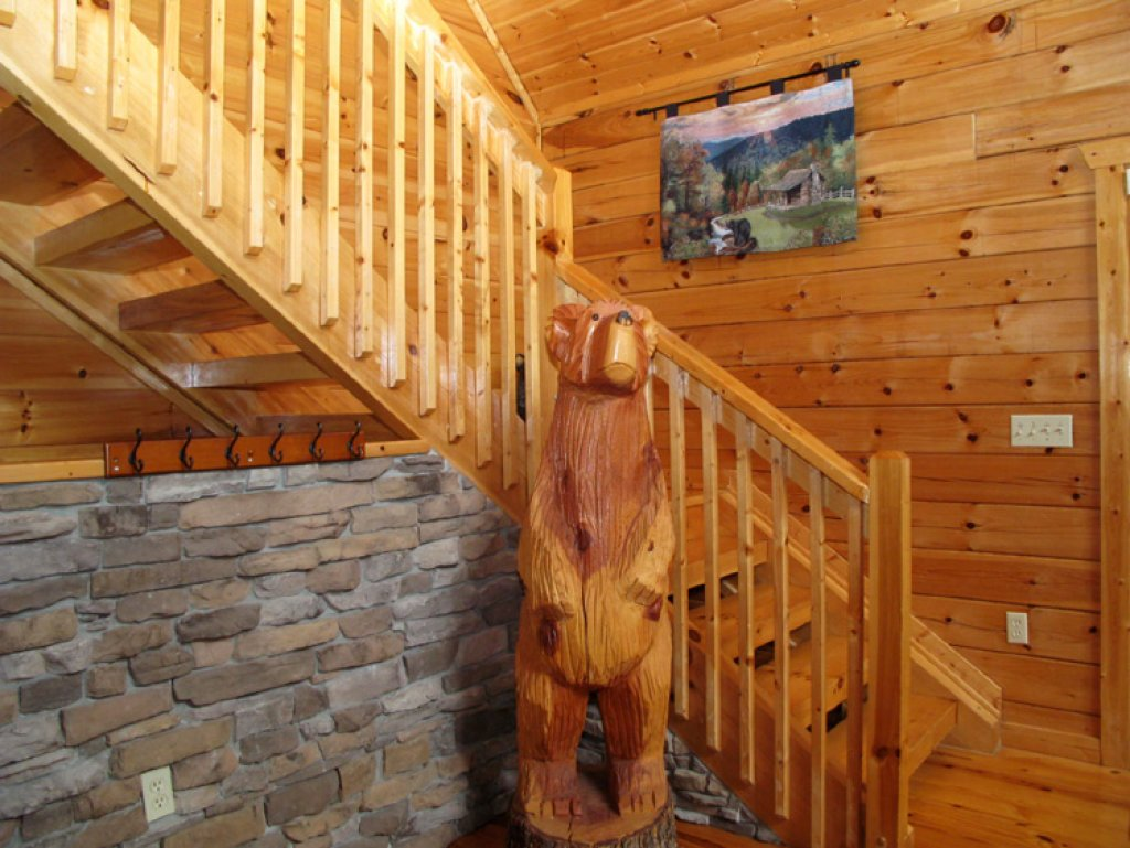 Photo of a Gatlinburg Cabin named Triple Mountain View - This is the twenty-first photo in the set.