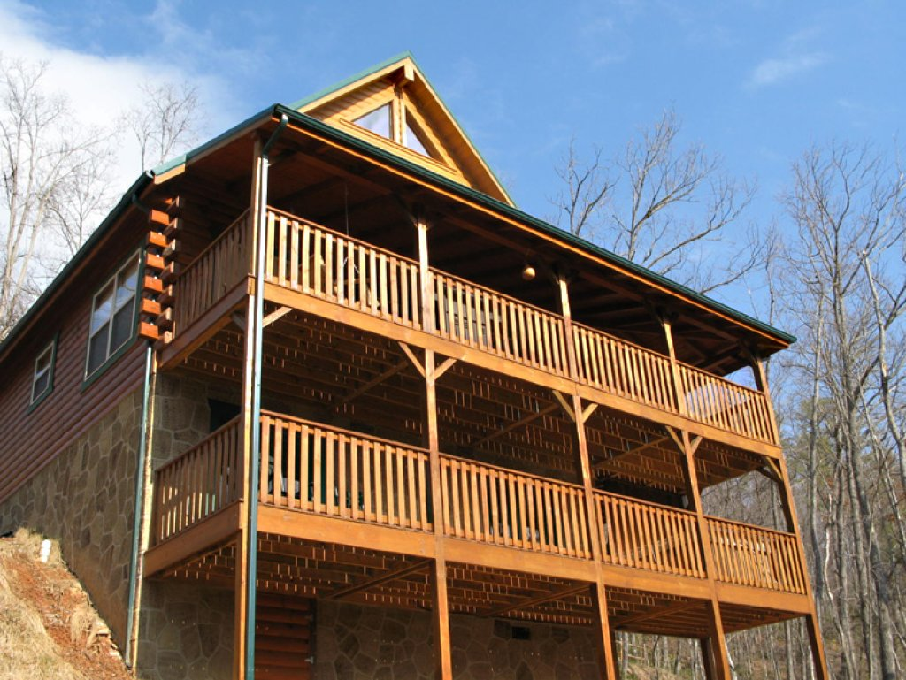 Photo of a Gatlinburg Cabin named Triple Mountain View - This is the twelfth photo in the set.