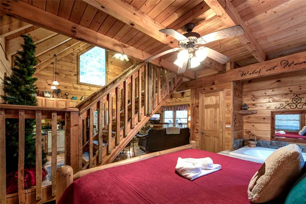 Photo of a Pigeon Forge Cabin named Wild At Heart - This is the eighth photo in the set.