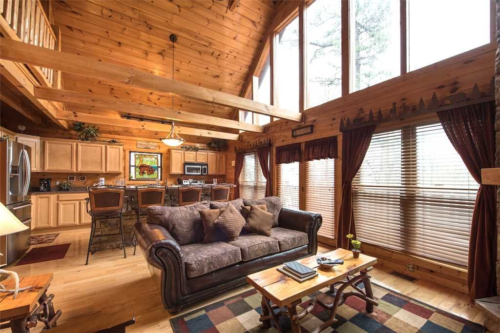 Photo of a Pigeon Forge Cabin named Hatcher Mountain Getaway - This is the fourth photo in the set.