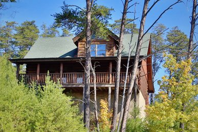 Luxurious Rustic Style, Private Deck W/Hot Tub, Pool Table, Sleeps 6, Dogs OK
