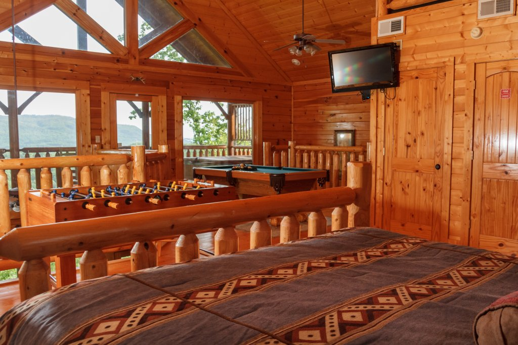 Photo of a Sevierville Cabin named Dream On High - This is the twelfth photo in the set.