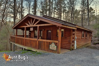 1 Bedroom Secluded Pet Friendly Cabin Off Dollywood Lane Pigeon Forge Tn