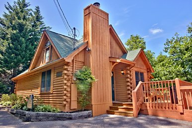 Amazing, Romantic Retreat With Great Mountain View! (exclusive Log Home)