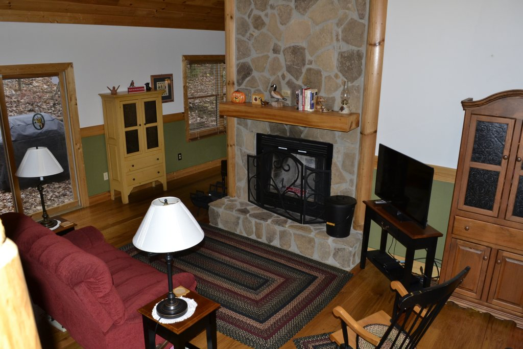 Photo of a Sevierville Cabin named Parkside Haven - This is the twenty-first photo in the set.