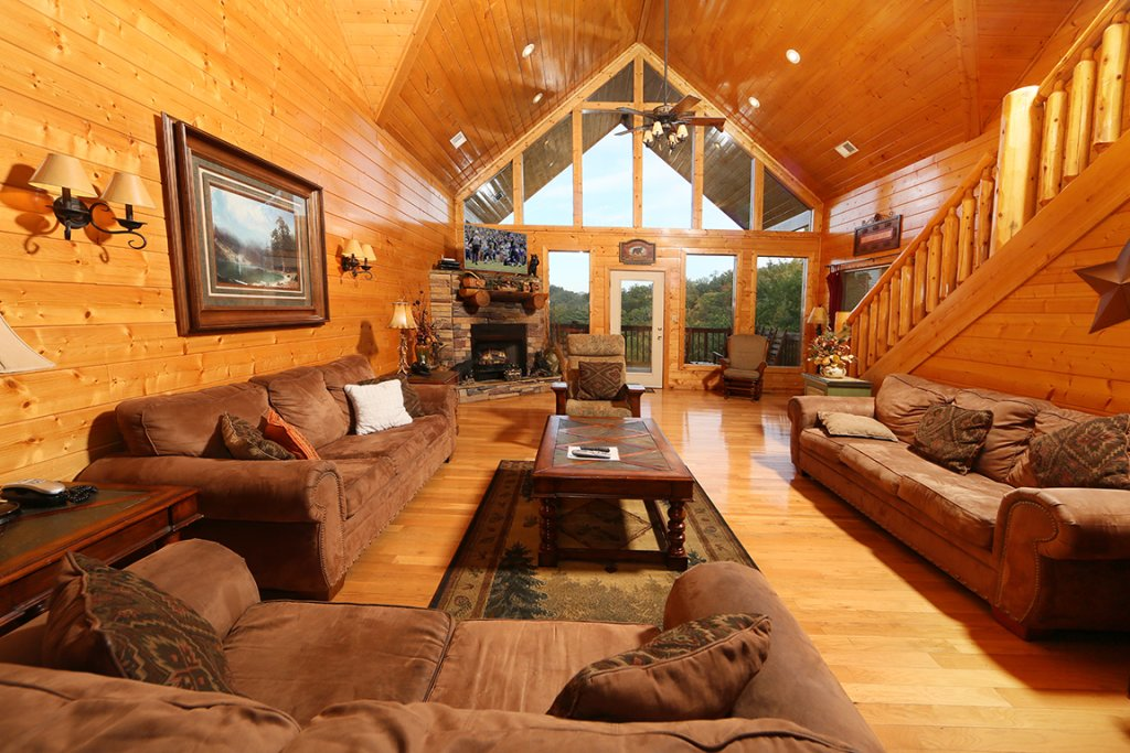 Photo of a Sevierville Cabin named Mountain Shadow Lodge - This is the tenth photo in the set.