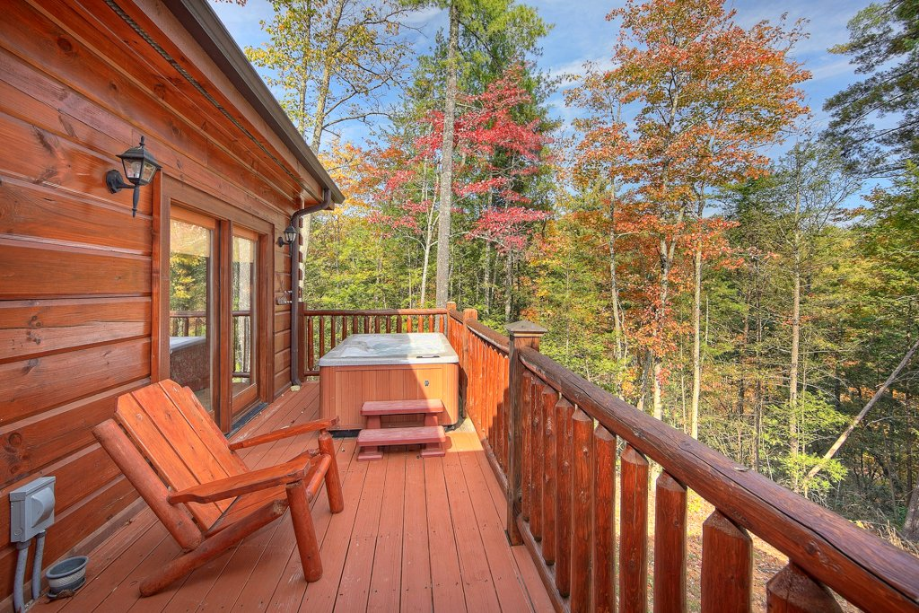 Photo of a Pigeon Forge Cabin named Tranquility - This is the first photo in the set.