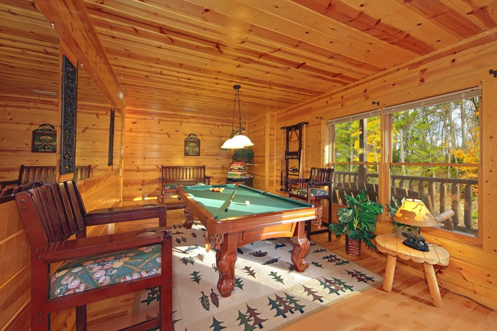 Photo of a Gatlinburg Cabin named A Secret Splash - This is the third photo in the set.
