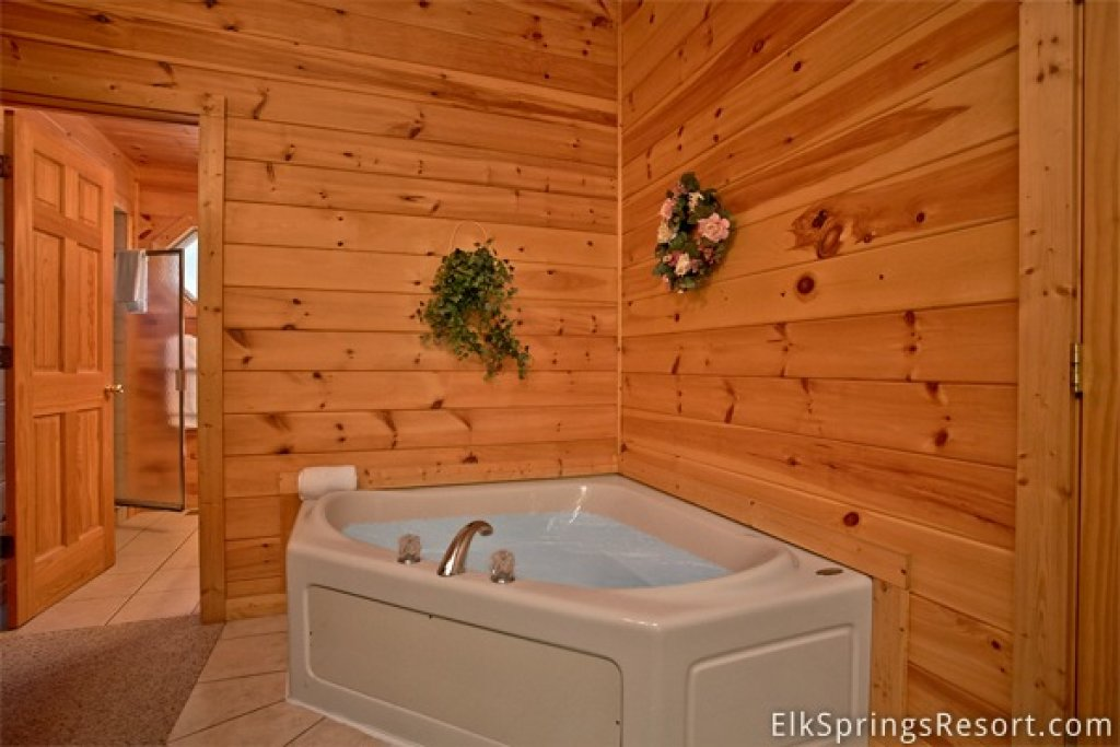 Photo of a Gatlinburg Cabin named Romance Inn - This is the forty-fourth photo in the set.