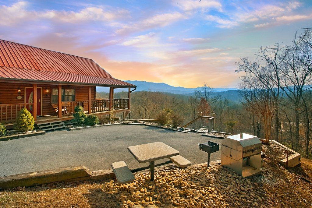 Photo of a Gatlinburg Cabin named Hawks Ridge - This is the seventeenth photo in the set.