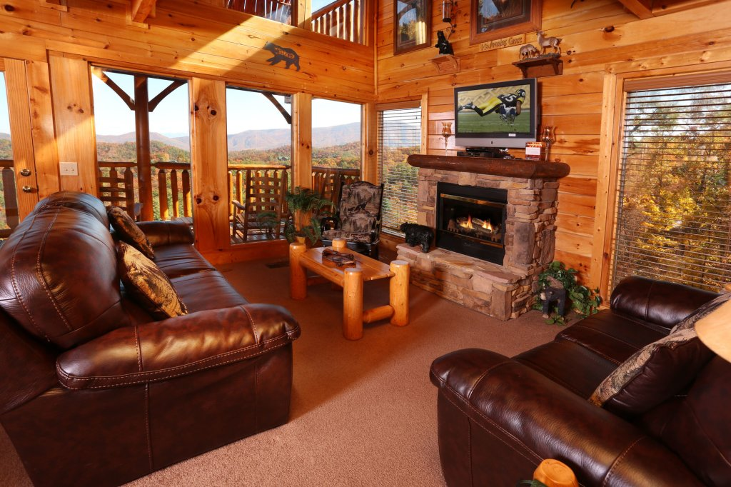 Photo of a Pigeon Forge Cabin named His Amazing Grace - This is the eighth photo in the set.