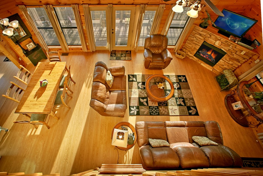 Photo of a Gatlinburg Cabin named Hawks Ridge - This is the fifth photo in the set.
