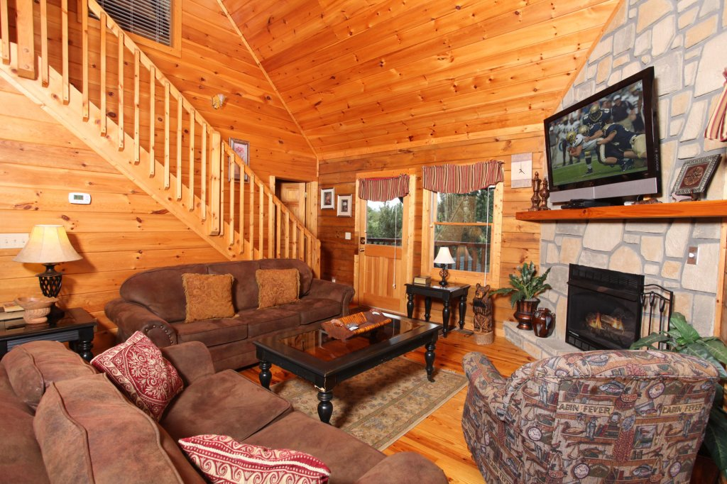 Photo of a Gatlinburg Cabin named Paws Forever - This is the seventh photo in the set.