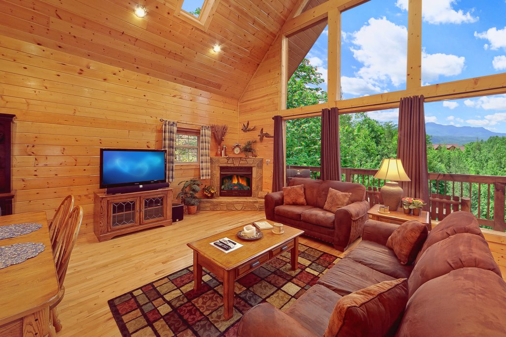 Photo of a Gatlinburg Cabin named Knotty Pine Delight - This is the fifth photo in the set.