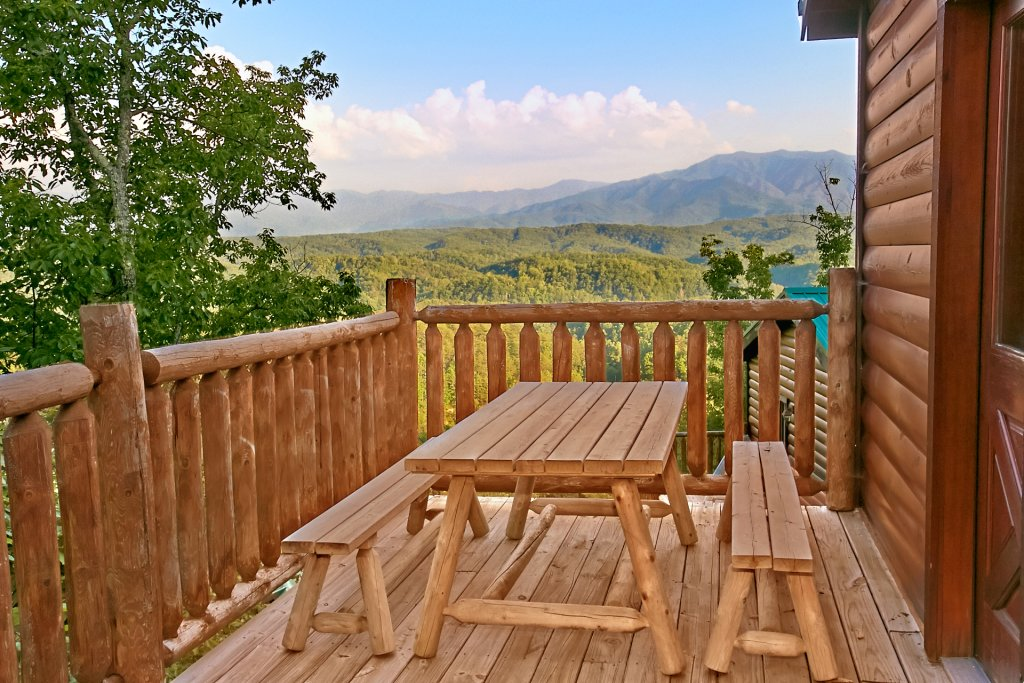 Photo of a Pigeon Forge Cabin named Breathtaking Views - This is the first photo in the set.