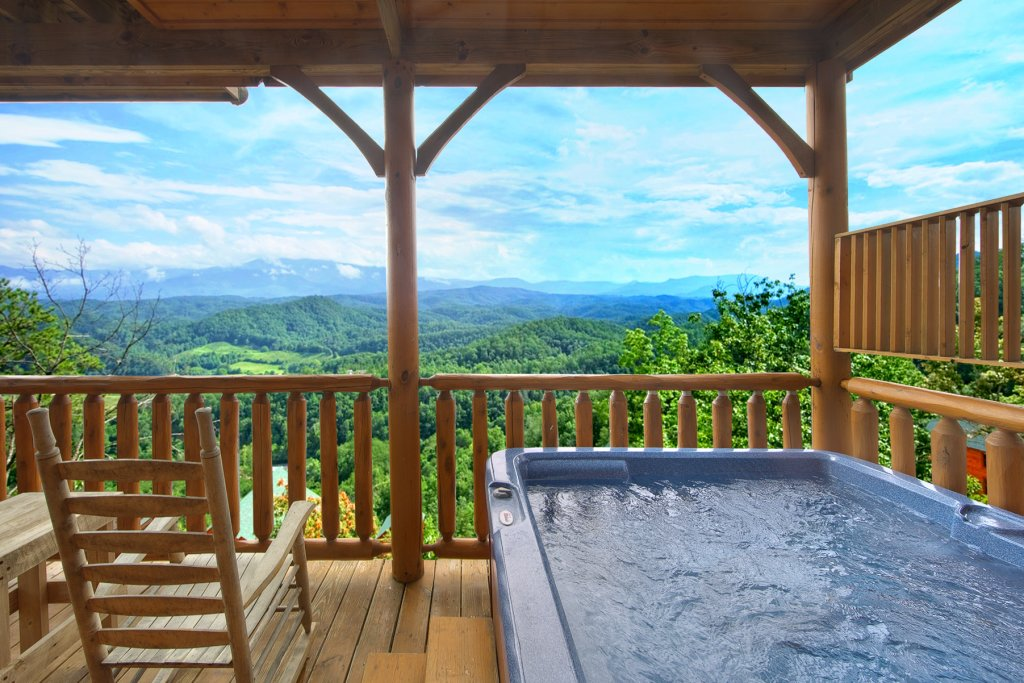 Photo of a Pigeon Forge Cabin named Paradise View (#24) - This is the third photo in the set.