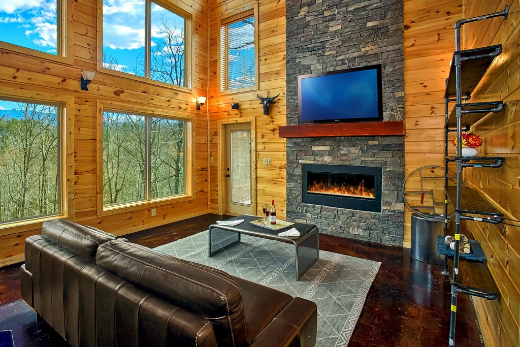 Photo of a Gatlinburg Cabin named Urban Cowboy - This is the fourteenth photo in the set.
