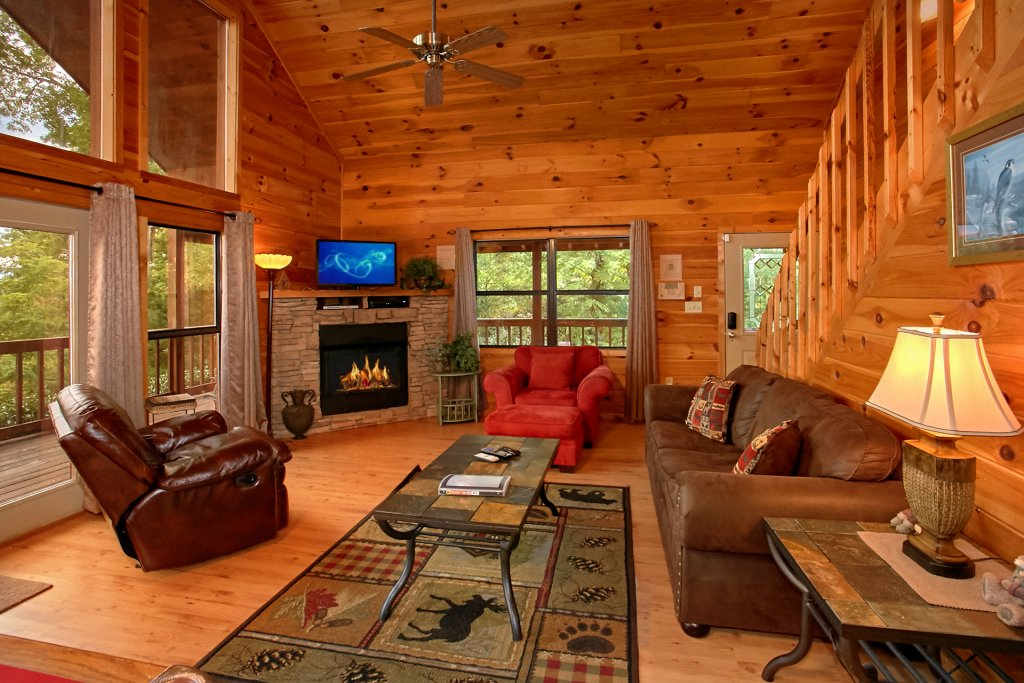 Photo of a Gatlinburg Cabin named Hawks Vue - This is the ninth photo in the set.