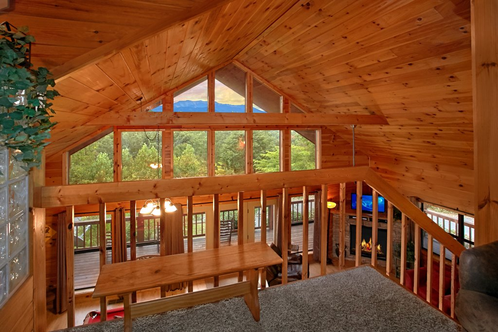Photo of a Gatlinburg Cabin named Hawks Vue - This is the tenth photo in the set.
