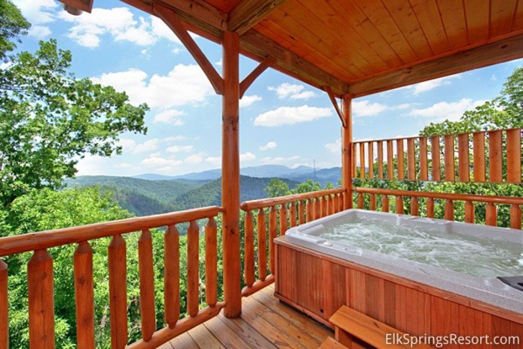 Photo of a Pigeon Forge Cabin named Mountain Dreams (#104) - This is the second photo in the set.
