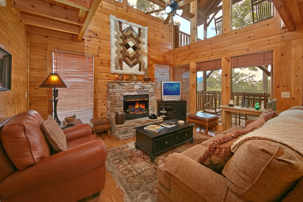 Photo of a Pigeon Forge Cabin named Sweet Retreat - This is the tenth photo in the set.
