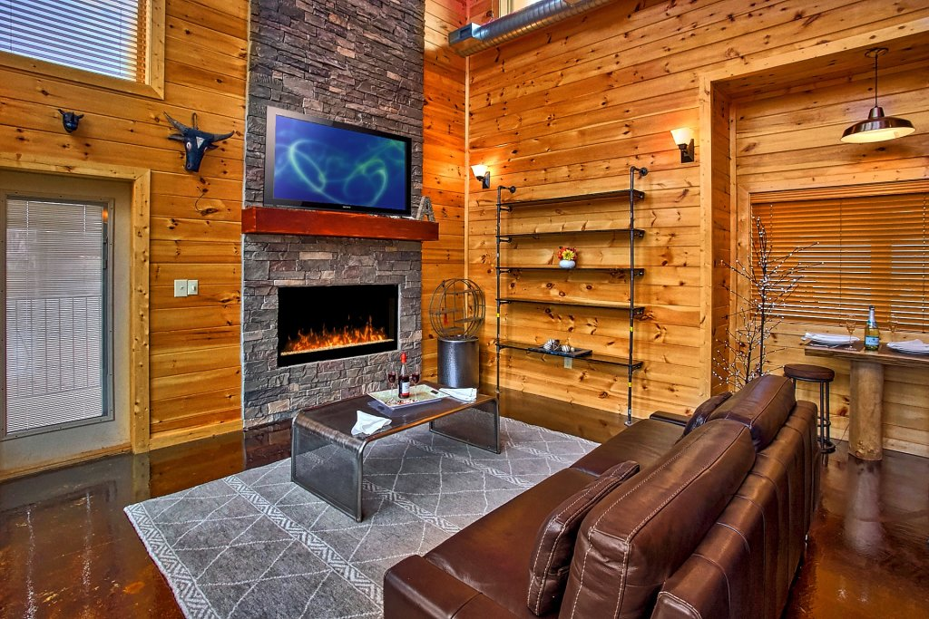 Photo of a Gatlinburg Cabin named Urban Cowboy - This is the twelfth photo in the set.