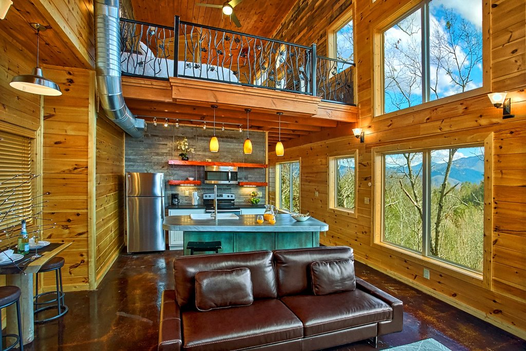 Photo of a Gatlinburg Cabin named Urban Cowboy - This is the fifteenth photo in the set.