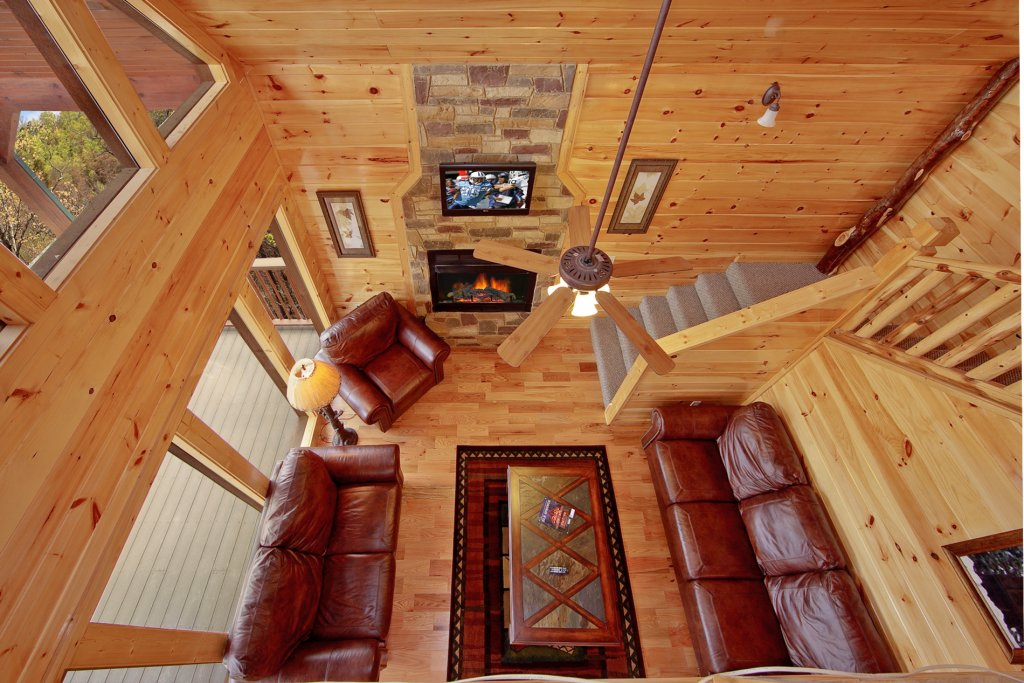 Photo of a Gatlinburg Cabin named Eagles Nest - This is the ninth photo in the set.