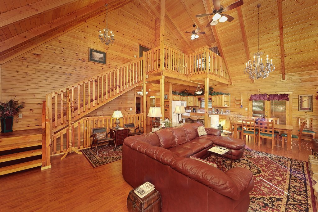 Photo of a Pigeon Forge Cabin named Secluded Hideaway - This is the tenth photo in the set.