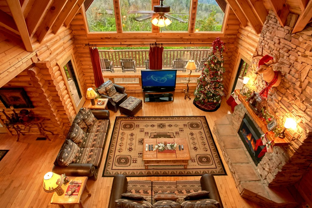 Photo of a Gatlinburg Cabin named Heavenly Heights - This is the ninth photo in the set.