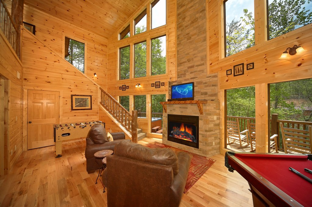 Photo of a Gatlinburg Cabin named Secret Garden - This is the fourth photo in the set.