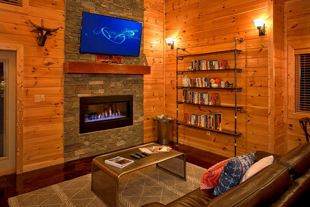 Photo of a Gatlinburg Cabin named Urban Cowboy - This is the thirteenth photo in the set.