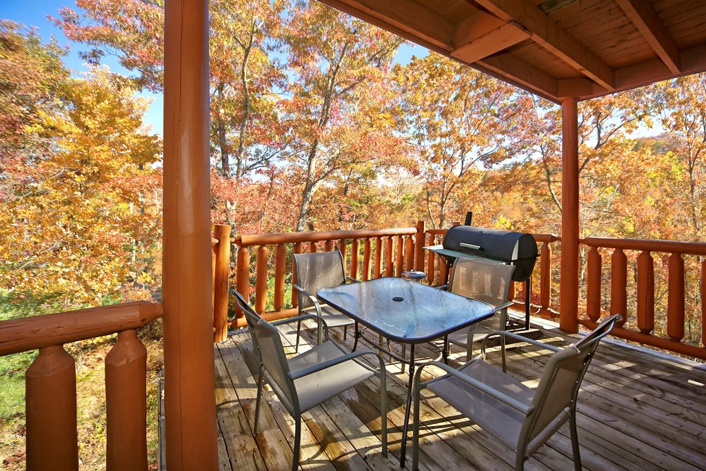 Photo of a Gatlinburg Cabin named A Secret Hideaway - This is the third photo in the set.