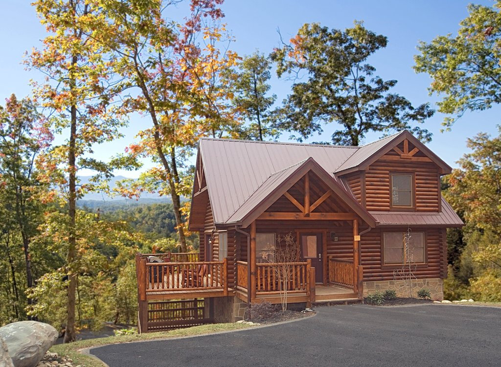 Photo of a Gatlinburg Cabin named Cowboy Way - This is the thirteenth photo in the set.