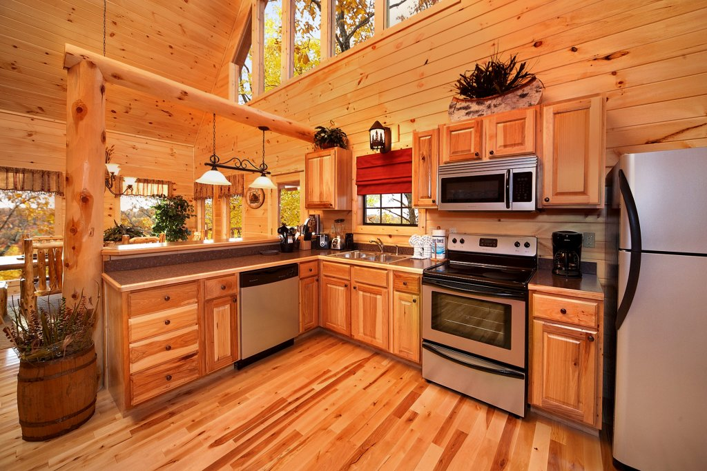 Photo of a Gatlinburg Cabin named Living In Paradise - This is the seventh photo in the set.
