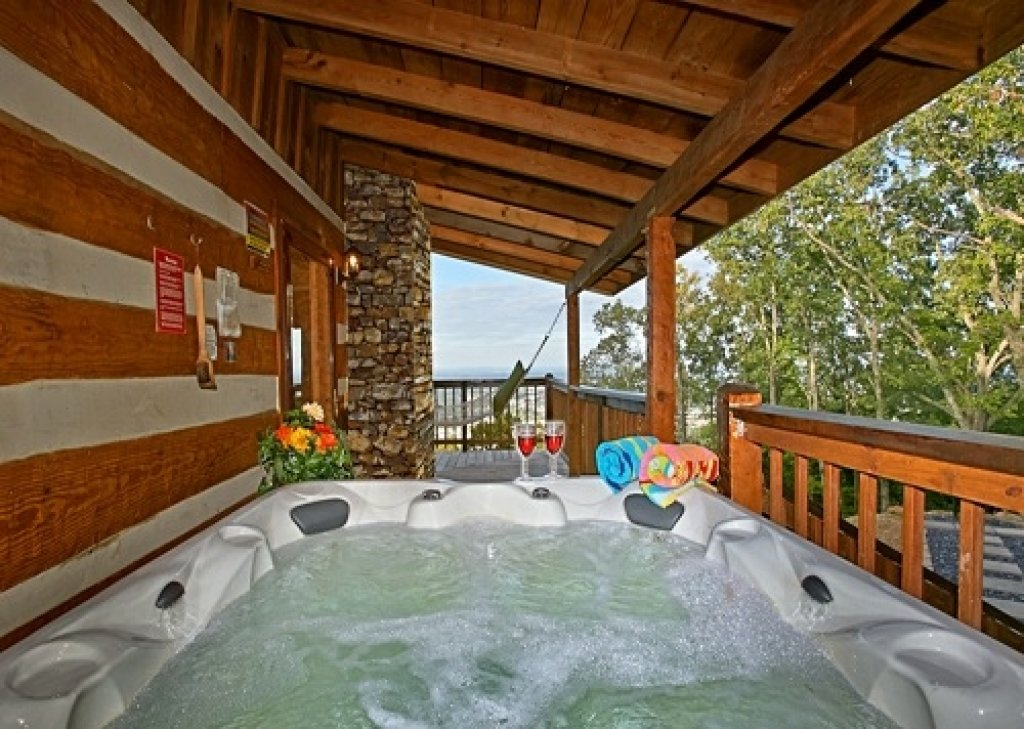 Eagle 39 s view cabin in sevierville w 1 br sleeps6 - 1 bedroom cabins in pigeon forge under 100 ...