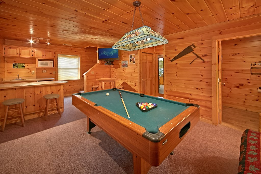 Photo of a Gatlinburg Cabin named A Secret Hideaway - This is the sixth photo in the set.