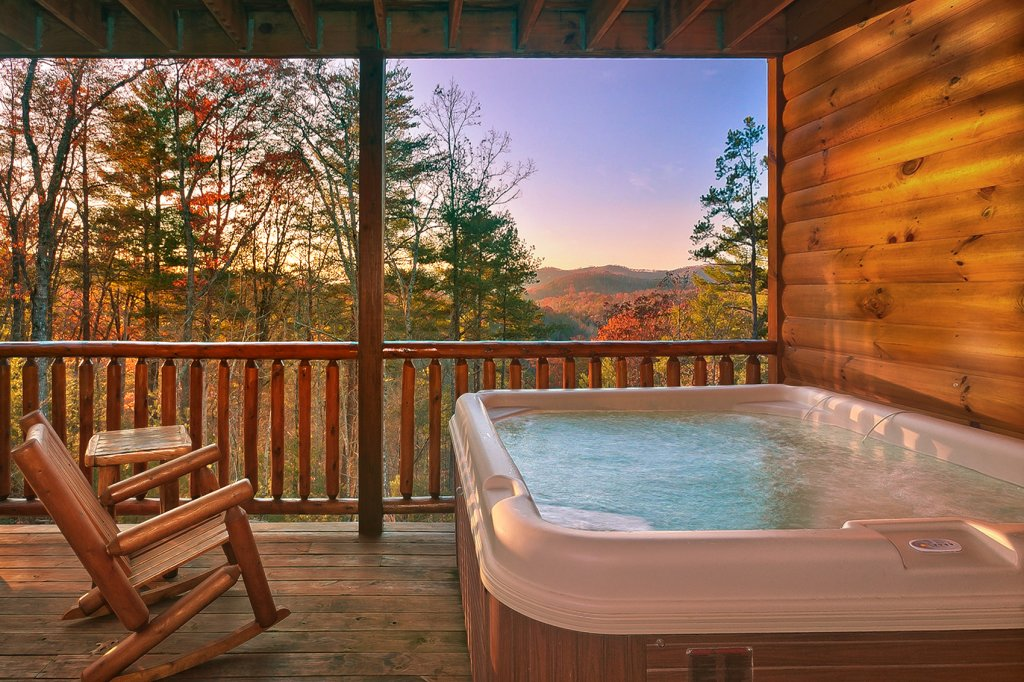 Photo of a Gatlinburg Cabin named Mountain Bliss - This is the fourth photo in the set.